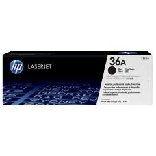 HP - Cartucho de Tóner, HP, CB436A, 36A, Negro
