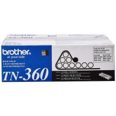 BROTHER - Cartucho de Tóner, Brother, TN360, Negro, Alto Rendimiento