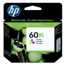 HP - Cartucho de Tinta, HP, CC644WL, 60XL, Color, Alto Rendimiento
