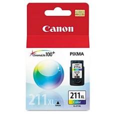 CANON - Cartucho de Tinta, Canon, 2975B017AA, CL211 XL, Color