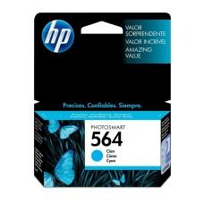 HP - Cartucho de Tinta, HP, CB318WL, 564, Cian
