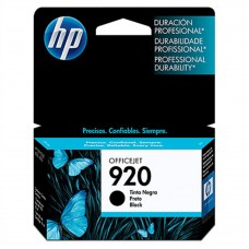 HP - Cartucho de Tinta, HP, CD971AL, 920, Negro