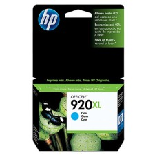HP - Cartucho de Tinta, HP, CD972AL, 920XL, Cian, Alto Rendimiento
