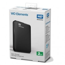 Disco Duro Portatil Externo 2tb Western Digital Wd Elements