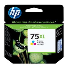 HP - Cartucho de Tinta, HP, CB338WL, 75XL, Tricolor, Alto Rendimiento