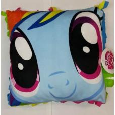 La Webería - My Little Pony, Cojin, Almohada Con Flecos, Rainbow Dash
