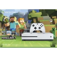 MICROSOFT - Xbox One S 500gb Slim Minecraft Nuevo Y Sellado 4k