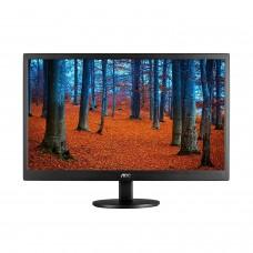 Monitor LED,  AOC, E970SWN, 18.5 Pulgadas, 1366 x 768, 60Hz, 5ms, Negro