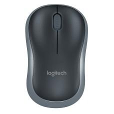 Mouse Óptico, Logitech, 910-002225, M185, Inalámbrico, Negro