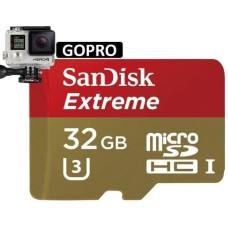 Memoria Micro SDHC Sandisk Extreme 32GB U3 C-10 V30 Gopro