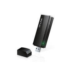 Tarjeta de red inalámbrica, TP-Link, Archer T4U, USB 3.0, Banda Dual, 2.4 GHz, 5 GHz, 867 Mbps, IEEE 802.11 ac/a/b/g/n