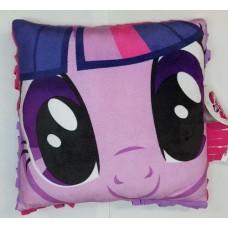 La Webería - My Little Pony, Cojin, Almohada Con Flecos, Twilight Sparkle