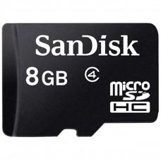 SANDISK - Memoria Micro SDHC Sandisk 8GB C4 c/Adaptador