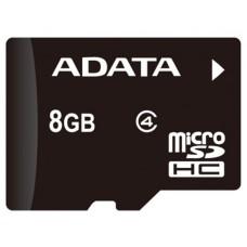 ADATA - Memoria Micro SDHC ADATA 8Gb C4 c/Adaptador