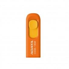 Memoria USB 2.0, Adata, AC008-8G-ROR, 8GB, Retractil, Naranja