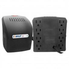 Regulador de Voltaje, Complet, ERV-6-001, 1300 VA, 650 W, 8 Contactos
