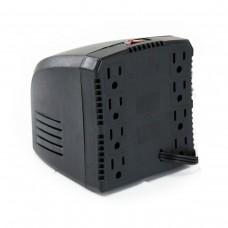 Regulador de Voltaje, Complet, ERV-5-015, 3200 VA, 1600 W, 8 Contactos