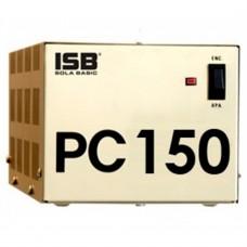 Industrias Sola Basic - Regulador de Voltaje, Sola Basic, PC-150, 150 VA, Ferroresaonante, 2 Contactos