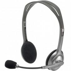 Audífonos con Micrófono, Logitech, 981-000305, Diadema, 3.5 mm, Estéreo, Supresor de Ruido