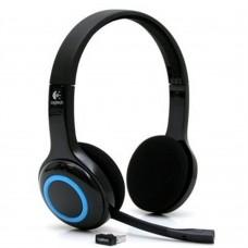 Audífonos con Micrófono, Logitech, H600, Diadema, Inalámbrico, Estéreo, USB