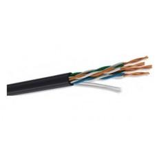 Bobina de Cable, Condumex, 66545742, UTP Cat5e, 305 m, 24 AWG, Negro