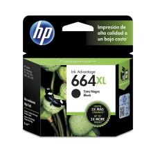 HP - Cartucho de Tinta, HP, F6V31AL, 664XL, Negro, Alto Rendimiento