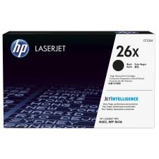 HP - Cartucho de Toner, HP, CF226X, 26X, Negro, 9000 Páginas, Alto Rendimiento