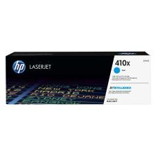 HP - Cartucho de Tóner, HP, CF411X 410X, Cian, 5000 Páginas