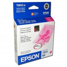 EPSON - Cartucho de Tinta, Epson, T063320-AL, Magenta, 350 Páginas