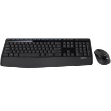 Teclado y Mouse, Logitech, 920-007820, MK345, Inalámbrico, USB, Negro