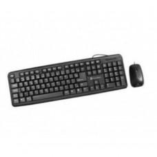Teclado y Mouse, True Basix, TB-01006, Alámbrico, USB.