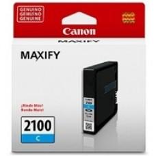 CANON - Cartucho de tinta, Canon, PGI-2100C, 9316B001AA, Cian, 10000 Páginas