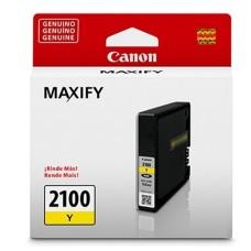 CANON - Cartucho de Tinta, Canon, 9318B001AA, PGI-2100Y, Amarillo, 1000 Páginas
