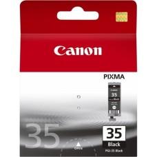 CANON - Cartucho de Tinta, Canon, 1509B020AA, PGI-35, Negro, 200 Páginas