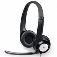 LOGITECH - Audífonos con Micrófono, Logitech, H390, Diadema, Supresor de Ruido, USB, Negro