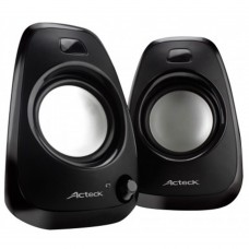 ACTECK - Bocina, Acteck, AC-02012, Multimedia, 2.0, Negro