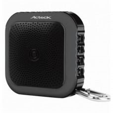 Bocina Portatil, Acteck, AC-02004, Bluetooth, Manos Libres, USB, Negro