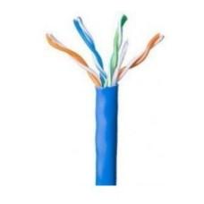 WAM - Cable de Red, WAM, CAT 5e, CCA, Bobina, 305 m, Azul