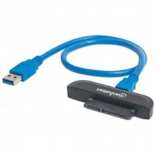 Convertidor, Manhattan, 130424, SATA a USB 3.0