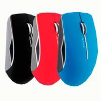 Mouse Óptico, Acteck, AC-916554, Inalámbrico, USB, Azul