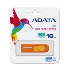 Memoria USB 2.0, Adata, AC008-16G-ROR, 16 GB, Naranja