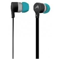 AUDIFONOS ACTECK IN-EAR CON MICROFONO NEGRO