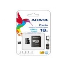 ADATA - Memoria Micro SD, Adata, AUSDH16GUICL10-RA1, 16 GB, SDHC, UHS-I C10