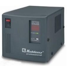 Regulador de Voltaje, Koblenz, ER-2550, 2500 VA, 2000 W, 4 Contactos