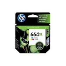 HP - Cartucho de Tinta, HP, 664XL, F6V30AL, Tricolor, 330 Páginas