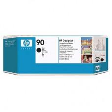 Cabezal de Impresión, HP, C5054A, 90, Negro y Cabezal Limpiador
