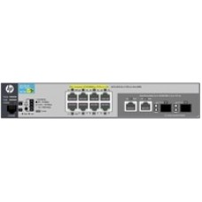 Switch Administrable, HP, J9774A, 2530-8G-PoE+, 8 Puertos 1000 Mbps, 2 puertos SFP, PoE+