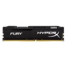 Memoria RAM, Kingston, HX421C14FB/4, DDR4, 4 GB, 2133 MHz, HyperX Fury, Negro, 288 pin