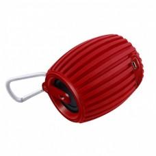 Bocina Portatil, Acteck, LVBB-105, Rojo, Bluetooth, SD