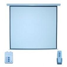 Pantalla de Proyección, Multimedia Screen, MSE-213, 120 Pulgadas, Formato 1:1, Eléctrica